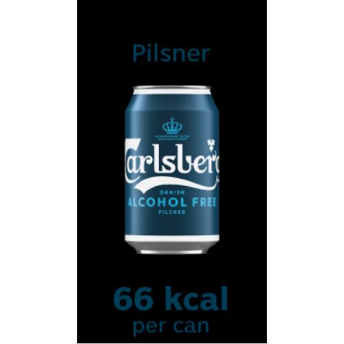 *NEW* Carlsberg Alcohol Free Pilsner 330ml Can