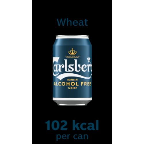 *NEW* Carlsberg Alcohol Free Wheat 330ml Can