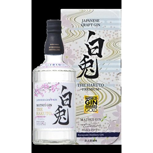 *NEW* Matsui Craft Gin - The Hakuto PREMIUM 白兎 700ml