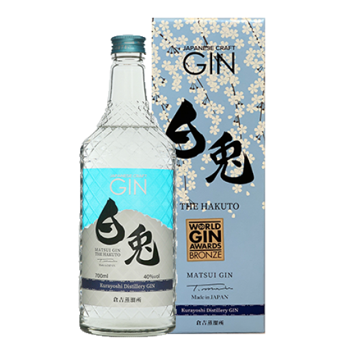 *NEW* Matsui Craft Gin - The Hakuto 白兎 700ml