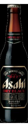 Asahi Super Dry Black Bottle Beer