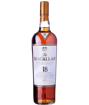 The Macallan Sherry Oak 18 Years Old (Limited Allocation)
